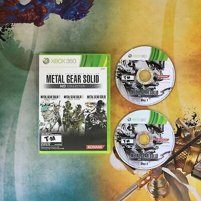 Metal Gear Solid: HD Collection • Microsoft Xbox 360