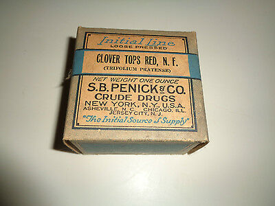 Quack Medicine, Initial Line Clover Tops S.B. Penick & Co. Crude Drugs. Full