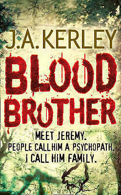 """""""AS NEW"""" Blood Brother (Carson Ryder, Book 4), J. A. Kerley, Book"""