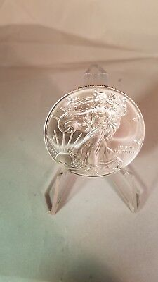 U.S. Mint 2019 Silver Eagle Coin $1 Dollar BU IN Air Tight Holder