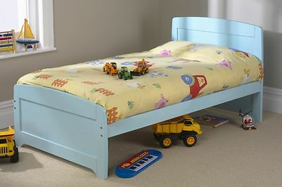 Solid Pine 3Ft Rainbow Bed Available In 3 Colours Frame Only Mattress Extra