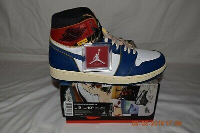 Union X LA Air Jordan 1 Retro High OG NRG  sz 9 New / DS  # BV1300-146 Nike WoW!