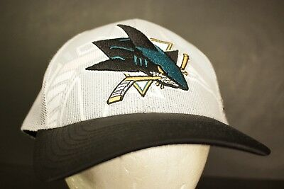 df9efe683 SHARKS MITCHELL NESS Unisex Snapback adjustable San Jose NHL teal ...