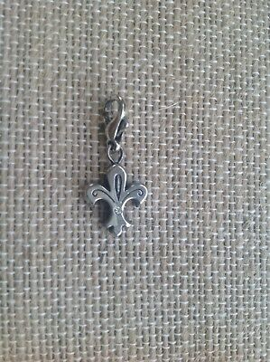Fashion Jewelry New  Brighton CHIC BUTTERFLY Crystals Silver Snap Charm Bead  RETIRED