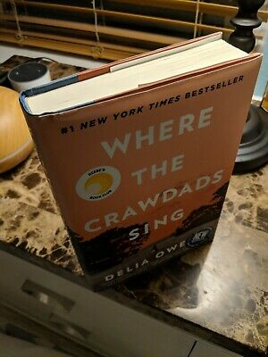 Where the Crawdads Sing by Delia Owens (2018, Hardcover)