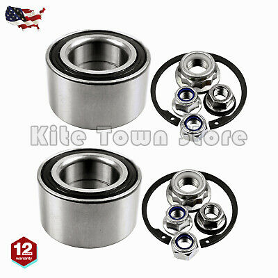 PAIR Front Wheel Bearing Kit For VW Mk4 Golf GTI Jetta Beetle A4 Replace For FAG