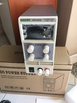 Power Supply Alimentatore Regolabile 120v Dc 3A X Ocilloscopio Multimetro