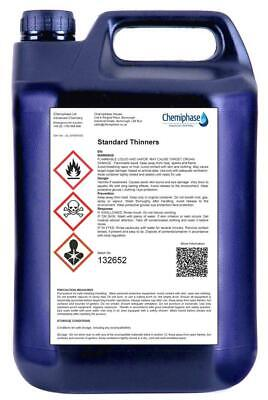 5 LItres of Standard Thinners Gun Wash Parts Cleaner Paint Thinner Cellulose