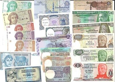 World Banknotes 20 Different Mixture All In UNC Conditions Lot 2
