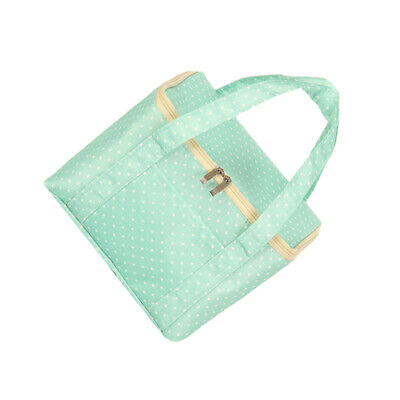 Lunch Pouch Storage Box Oxford Travel Picnic Carry Case Thermal Portable Bag LG