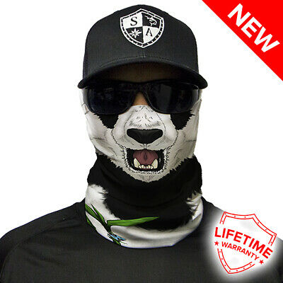 SA COMPANY Face Shield Mask MULTI-USE TUBULAR BANDANA Panda