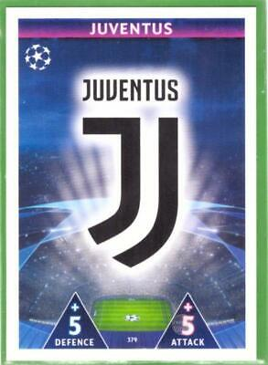 Topps Match Attax Champions League 2018-2019 Card No. 379 Juventus