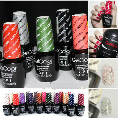 15ml 0.5oz.fl Gel Nails UV&LED Nail Polish OPI GelColor Soak Off Art Varnish