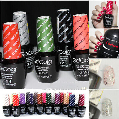 15ml 0.5oz.fl Gel Nails UV&LED Nail Polish GelColor Soak Off Salon Art Varnish