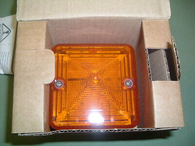 E2S ..Xenon Beacon Amber ............L101Dc23R/A 24Vac/Dc New.......... Packaged