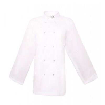 Long Sleeve Basic Chef Jacket White, Special Offer!