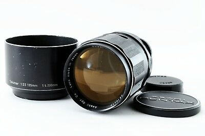 [Exc+]Pentax M42 Super Takumar 135mm f/2.5 Telephoto freeship Japan 113322