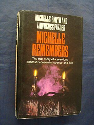 Michelle Remembers by Pazder, Lawrence Hardback Book The Fast Free Shipping