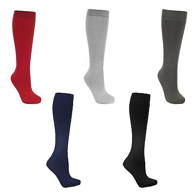 Trespass Tubular Kids Luxury Ski Tube Socks Warm Winter Wool Blend Socks