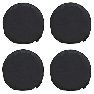 """4pcs 28"""" Car Wheel Tire Tyre Cover UV Bag For Truck Trailer RV Camper Protection"""
