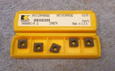 Add/'l Ship Free ** Pack of 10 ** Carbide Inserts Gr KC850 KENNAMETAL NR3062L