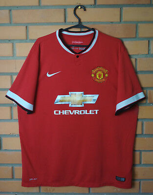 bf8323493ab Manchester United Home football shirt 2014 - 2015 size XL jersey soccer Nike