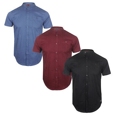 Mens Brave Soul Short Sleeve Shirt 100% Cotton SS19 NEW Sizes S to XL
