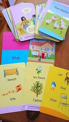 Usborne Beginners First French Colourful Flash Cards