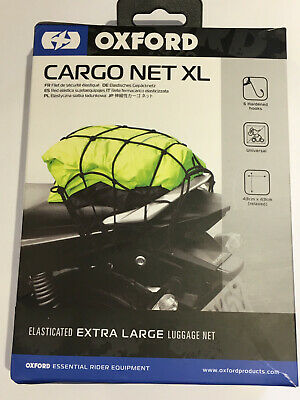 Oxford Black Elasticated Luggage Cargo Net XL OX666