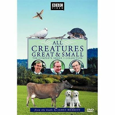 All Creatures Great and Small - Series Three Set (DVD, 2010, 4-Disc Set) BBC