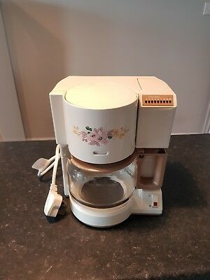 Boots Hedge Rose SWAN VINTAGE RETRO COFFEE PERCOLATOR Rare Fully Cleaned Tested