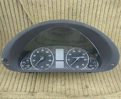 Mercedes W203 C Class Speedo Instrument Cluster Speedometer Binnacle 2035404648