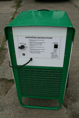 EBAC BD150 Industrial dehumidifier dual voltage 240Volt with PLUG Good Condition