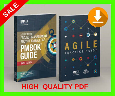 PMI PMBOK Guide 6th Edition 2018+Agile Practice Guide💪 INSTANT DELIVERY (30s) ⏰