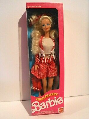 New Trailblazin' Barbie - 1991 - Mnrfb