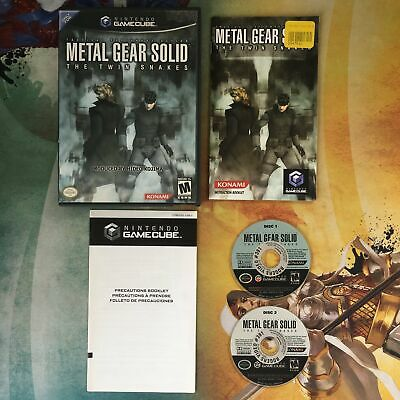 Metal Gear Solid: The Twin Snakes • Nintendo GameCube GCN