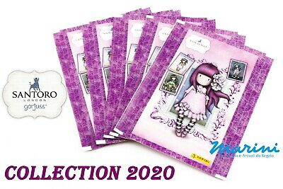 Santoro London Gorjuss Raccolta Panini 5 Bustine Figurine Stickers Raccolta 2020