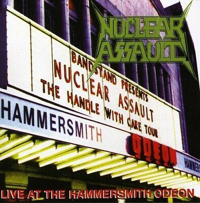 Cd Nuclear Assault Live At The Hammersmith Odeon Brand New Sealed