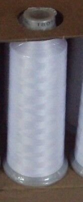 NEW Madeira 918 1801 Sealed Spool of 5500yd Polyneon Polyester Thread White