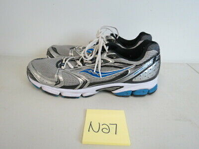 17fbbb4fc201 MENS SAUCONY GRID Stratos 5 Silver Running Shoes Size 7.5M (E398 ...
