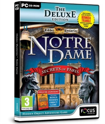 Hidden Mysteries Notre Dame Deluxe Edition GAME NEW