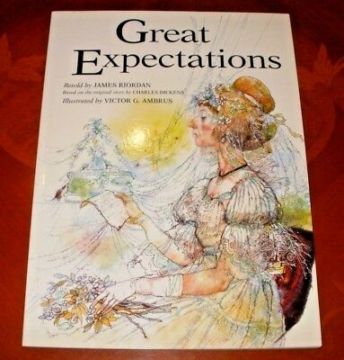 Great Expectations  By Charles Dickens Retold By James Riordan Illustrated Book
