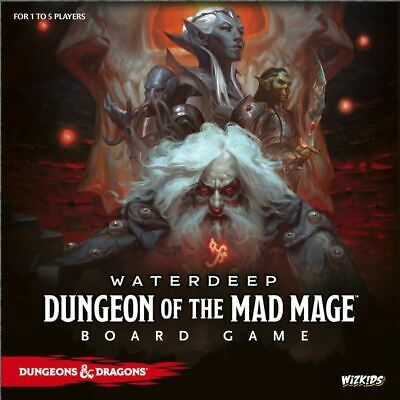 D&d Dungeon Of The Mad Mage Adventure System Board Game