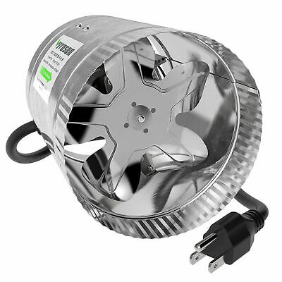 """VIVOSUN 6"""" inch Inline Duct Booster Fan Exhaust Air Cooling Vent Blower"""