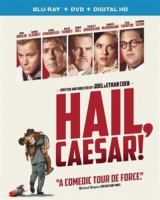HAIL CAESAR New Sealed Blu-ray + DVD George Clooney