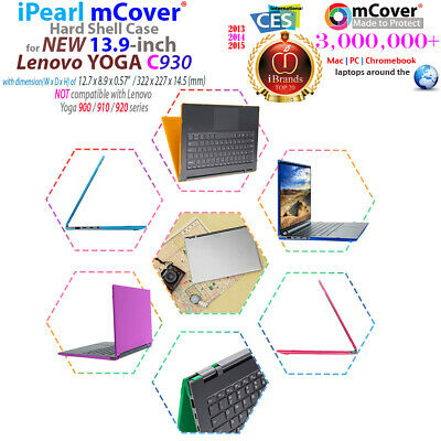 NEW mCover® Hard Shell Case for Lenovo Yoga C930 (14) 2-in-1 Laptop Computer