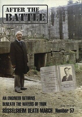 After the Battle Magazine Issue 57 Russelsheim death march