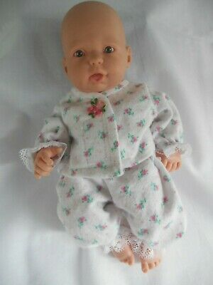 Handmade dolls clothes (Winter Pyjamas), to fit 24cm (9.5-10 inch) doll