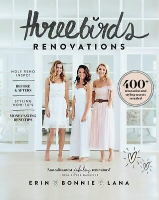 NEW Three Birds Renovations By Erin Cayless Paperback Free Shipping
