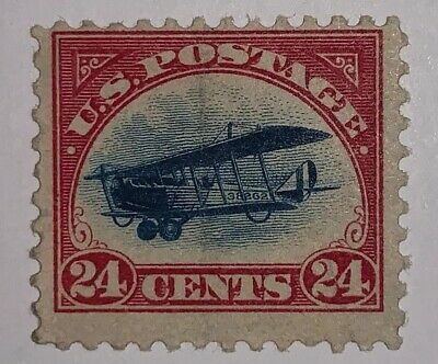 Travelstamps: 1918 US Stamps Scott# C3 Air Mail, Curtiss Jenny, Mint, Mnh, Og